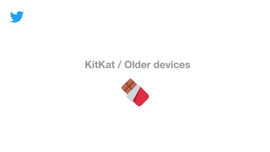 KitKat / Older devices