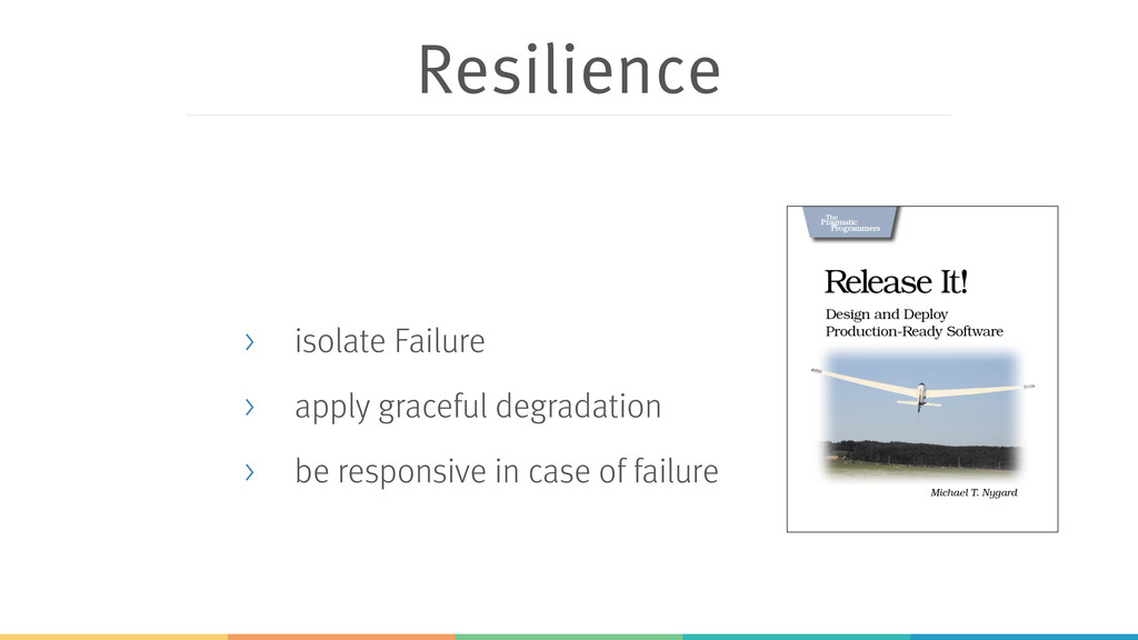 Resilience > isolate Failure > apply graceful d...
