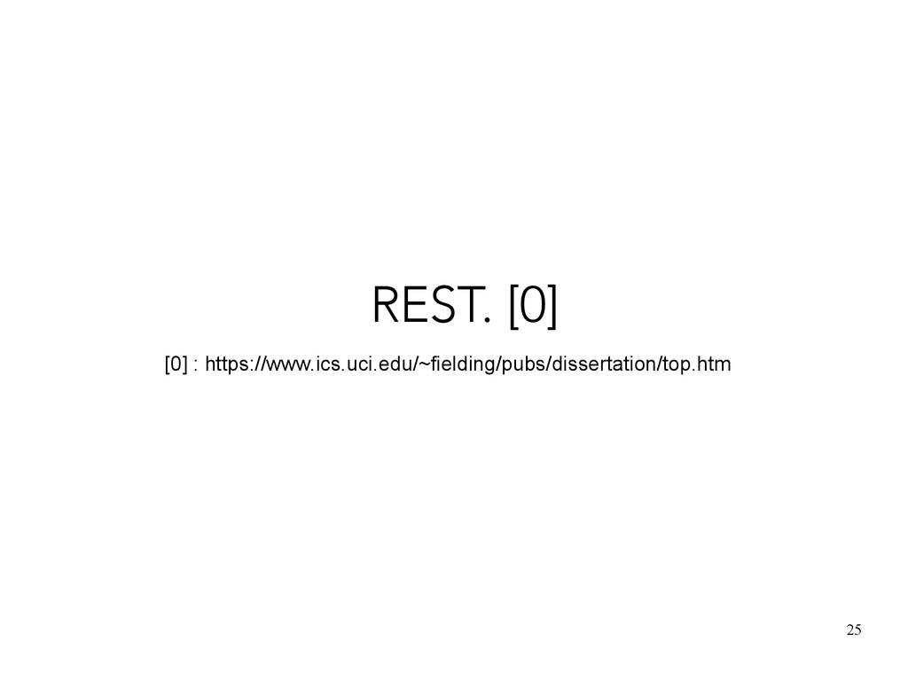 25 REST. [0] [0] : https://www.ics.uci.edu/~fie...
