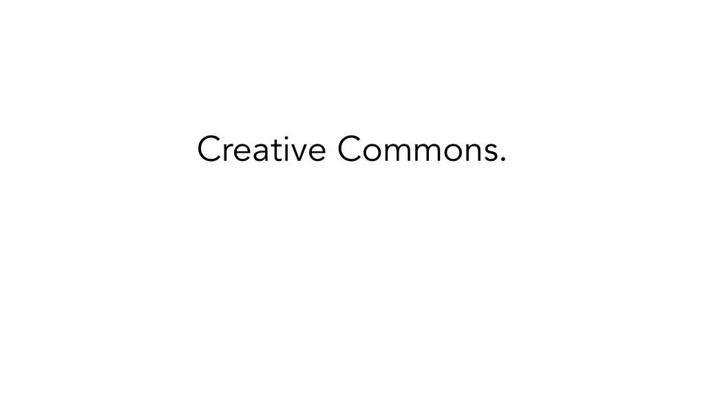 Creative Commons. ✗