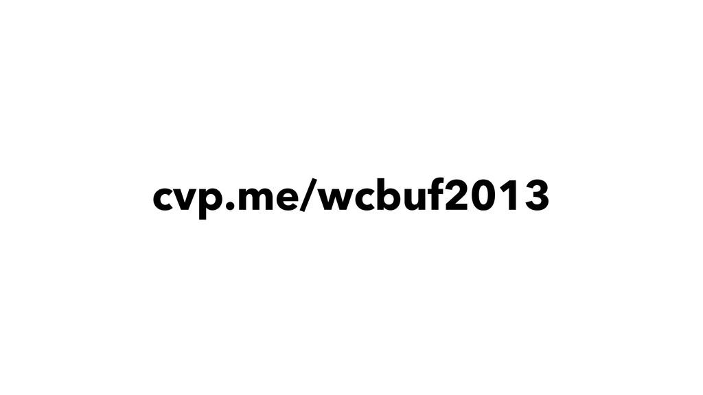 cvp.me/wcbuf2013