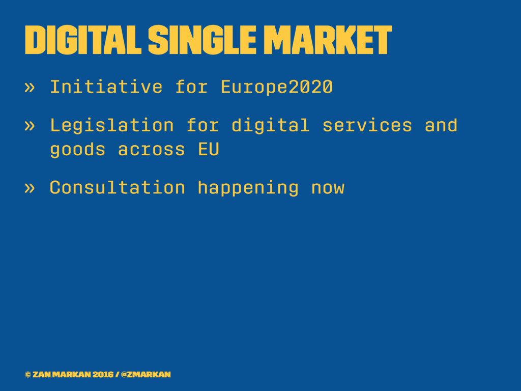 Digital Single Market » Initiative for Europe20...