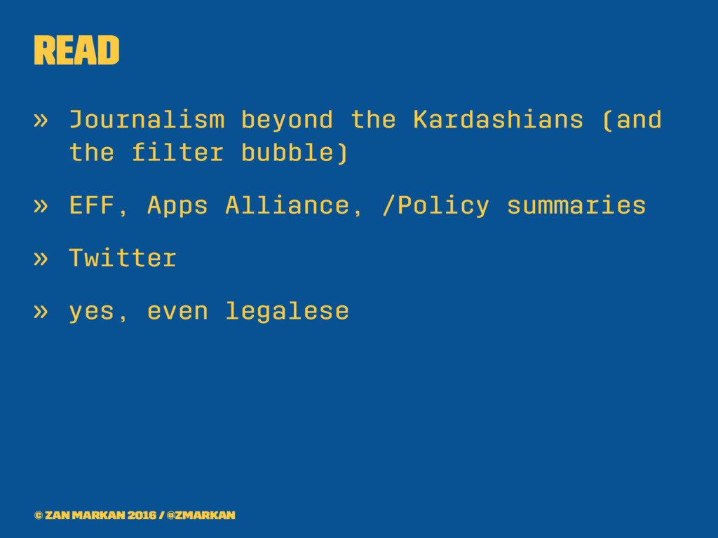 Read » Journalism beyond the Kardashians (and t...