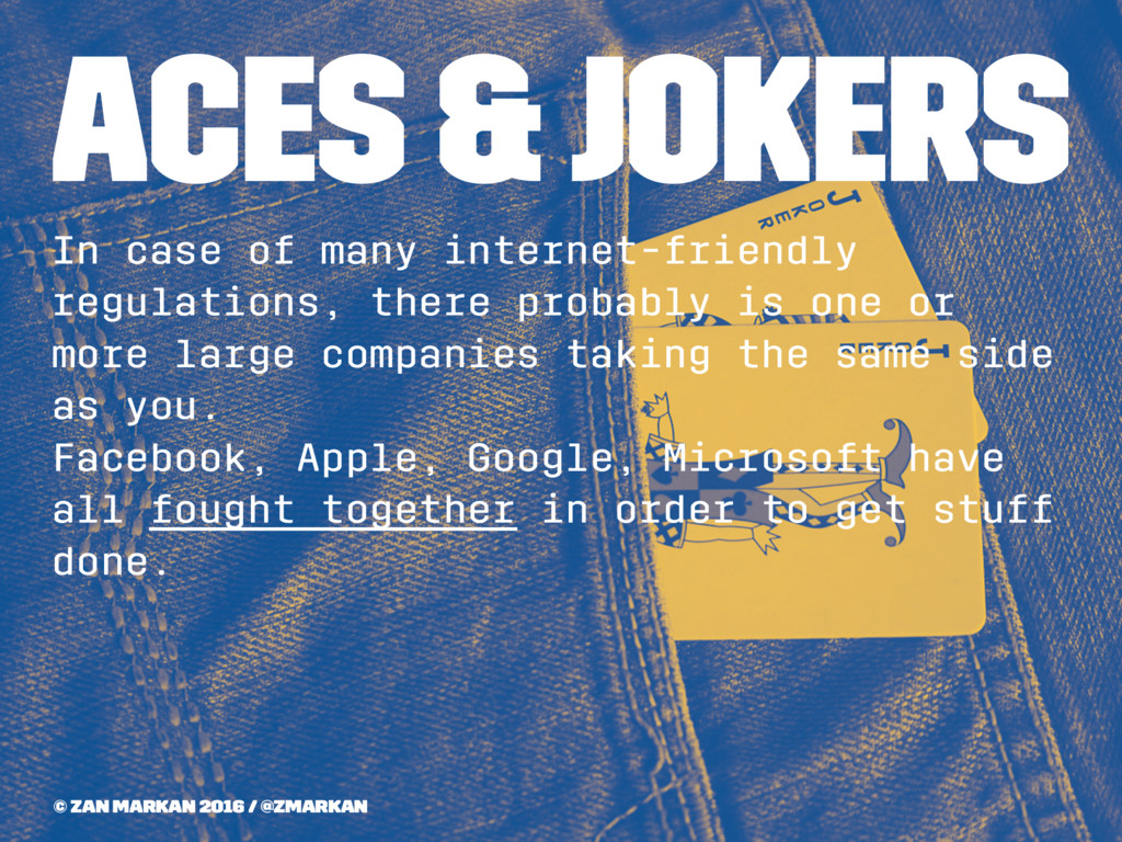 Aces & Jokers In case of many internet-friendly...