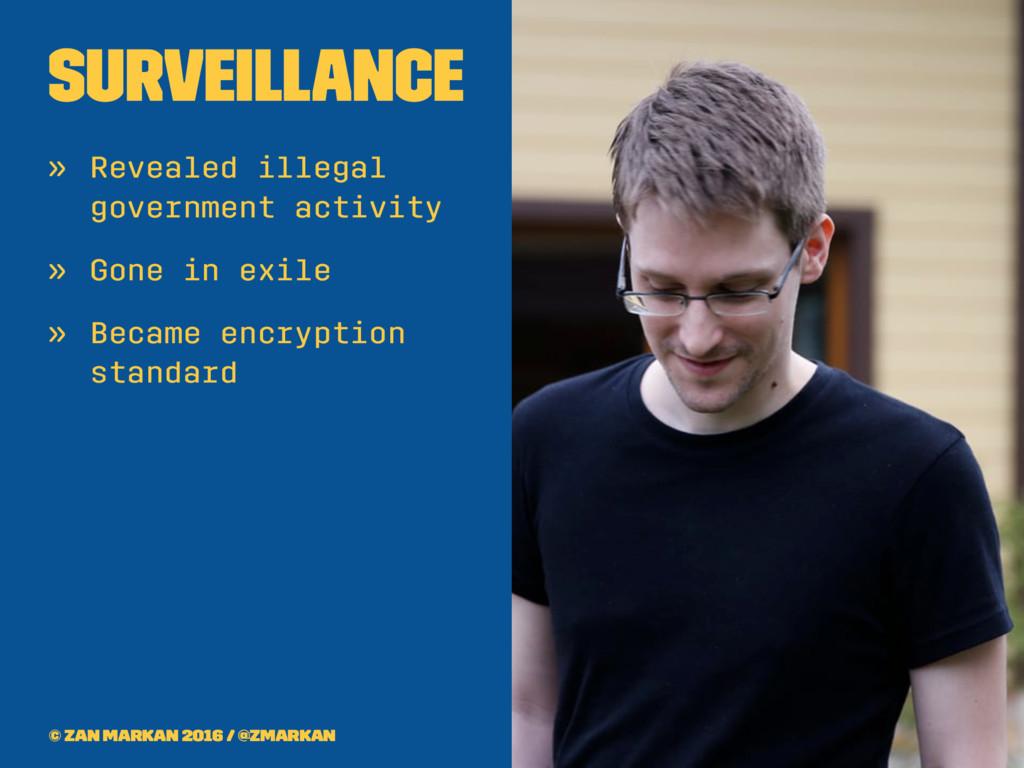 Surveillance » Revealed illegal government acti...