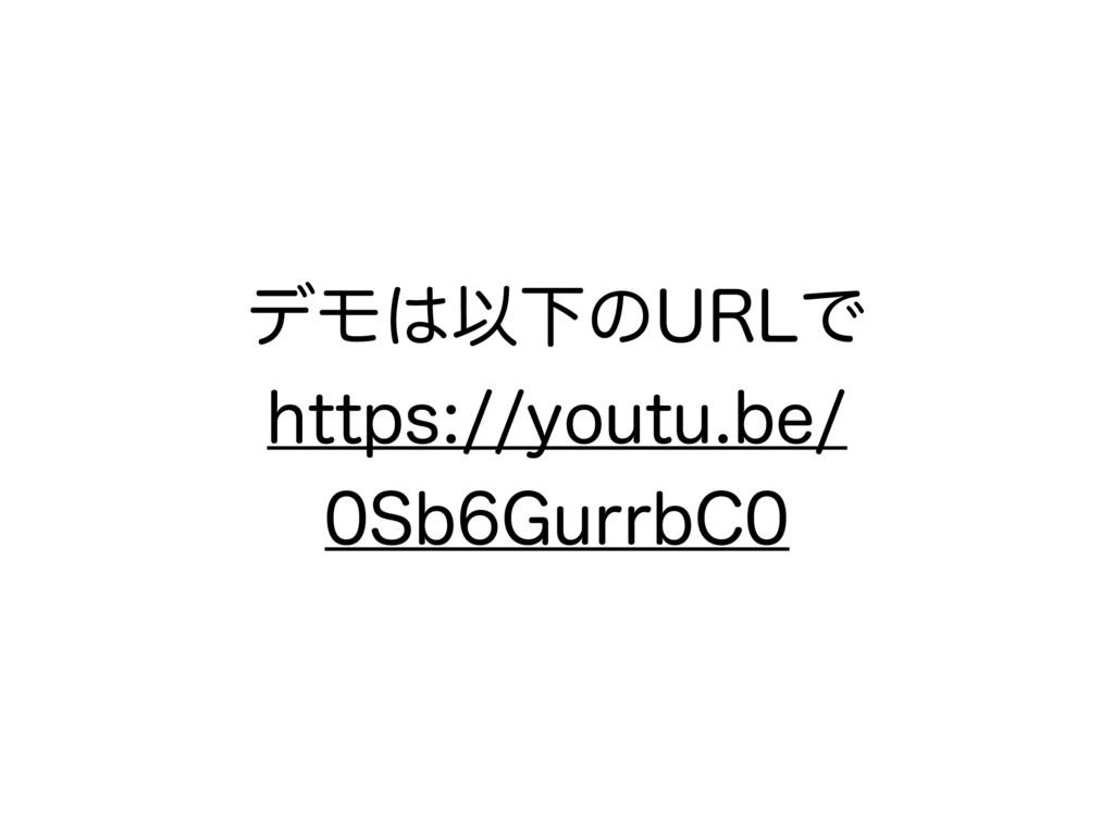 σϞҎԼͷ63-Ͱ IUUQTZPVUVCF 4C(VSSC$