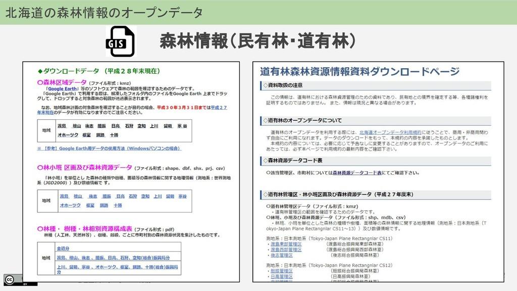 2018.07.19 地理空間フォーラム in 札幌 72 北海道の森林情報のオープンデータ ...