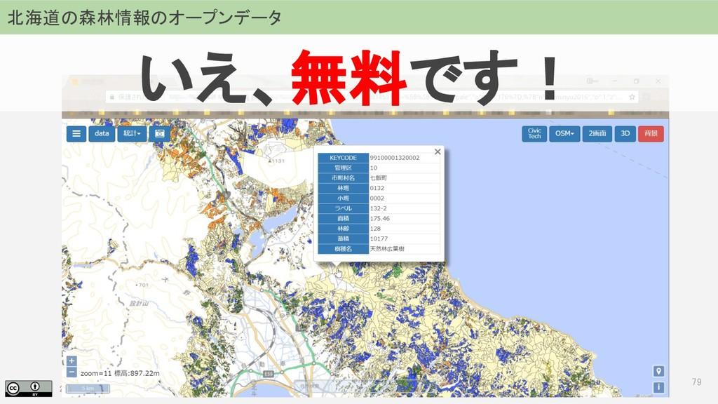 2018.07.19 地理空間フォーラム in 札幌 79 北海道の森林情報のオープンデータ ...