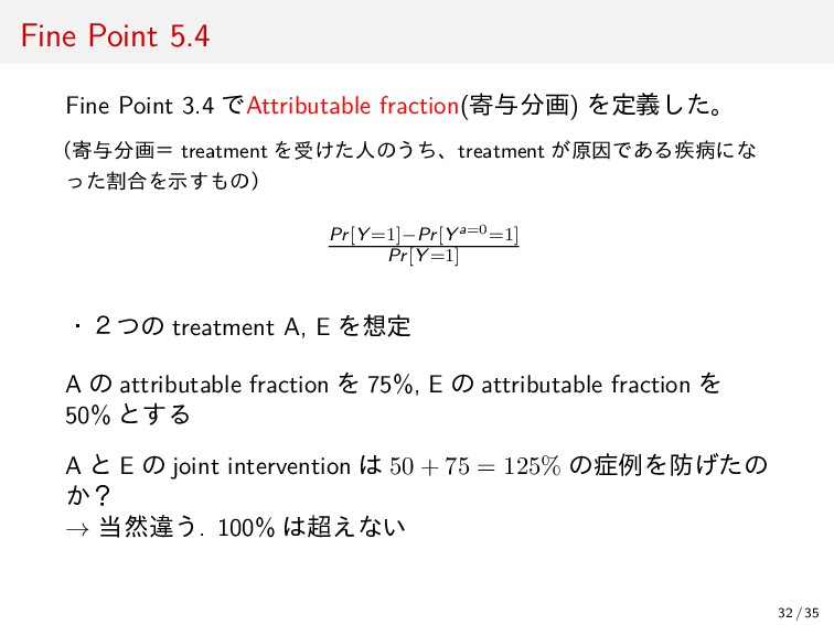 Fine Point 5.4 Fine Point 3.4 でAttributable fra...