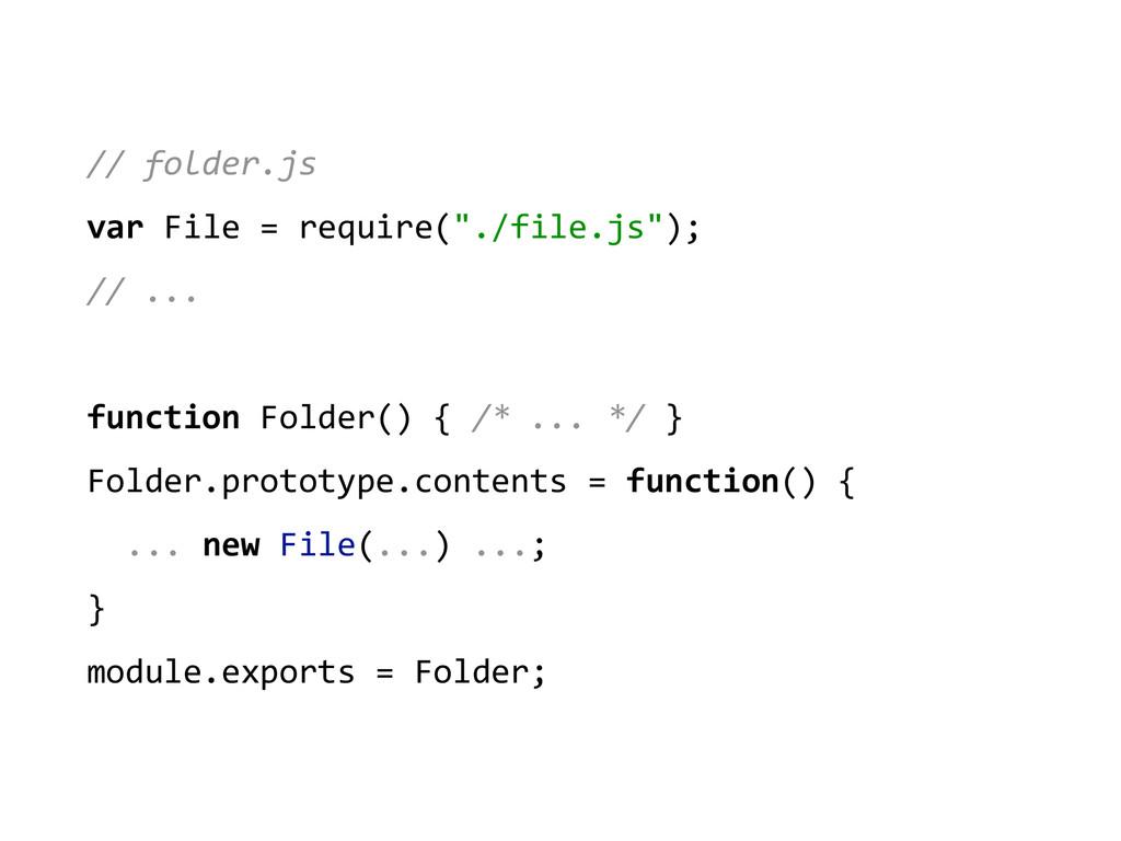 // folder.js  var File = require...