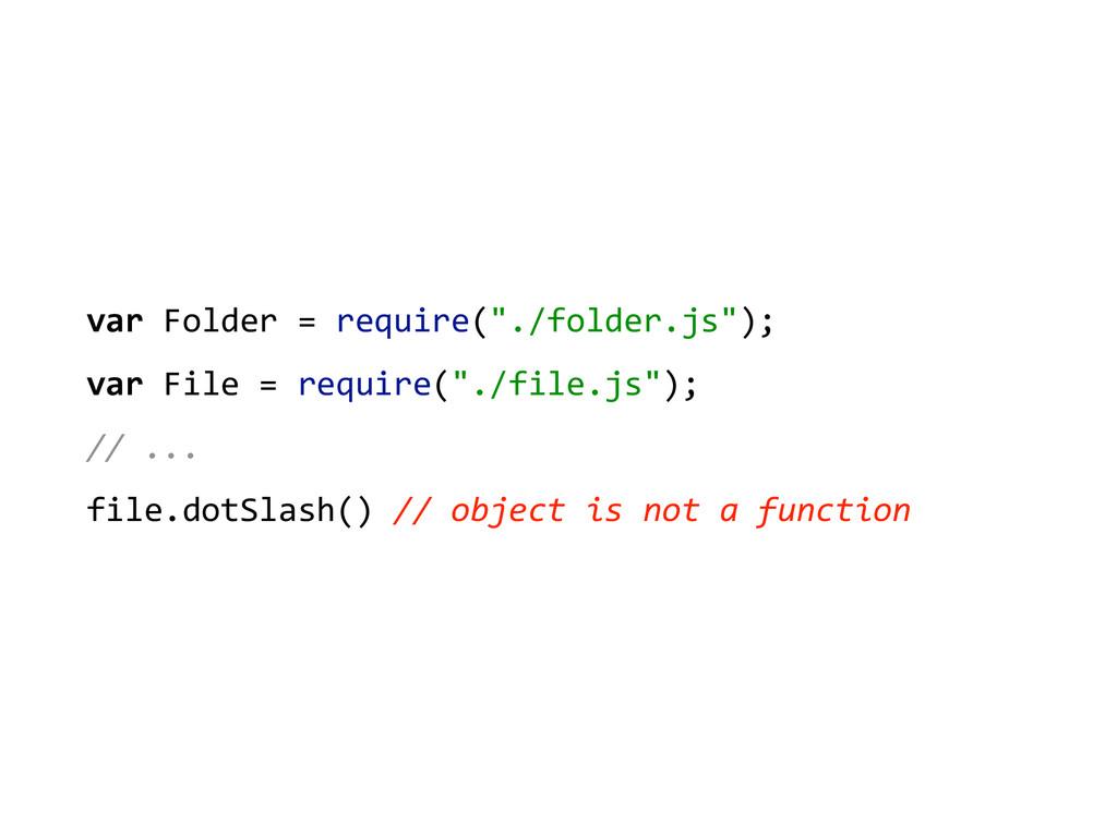 "var Folder = require(""./folder.js"");..."