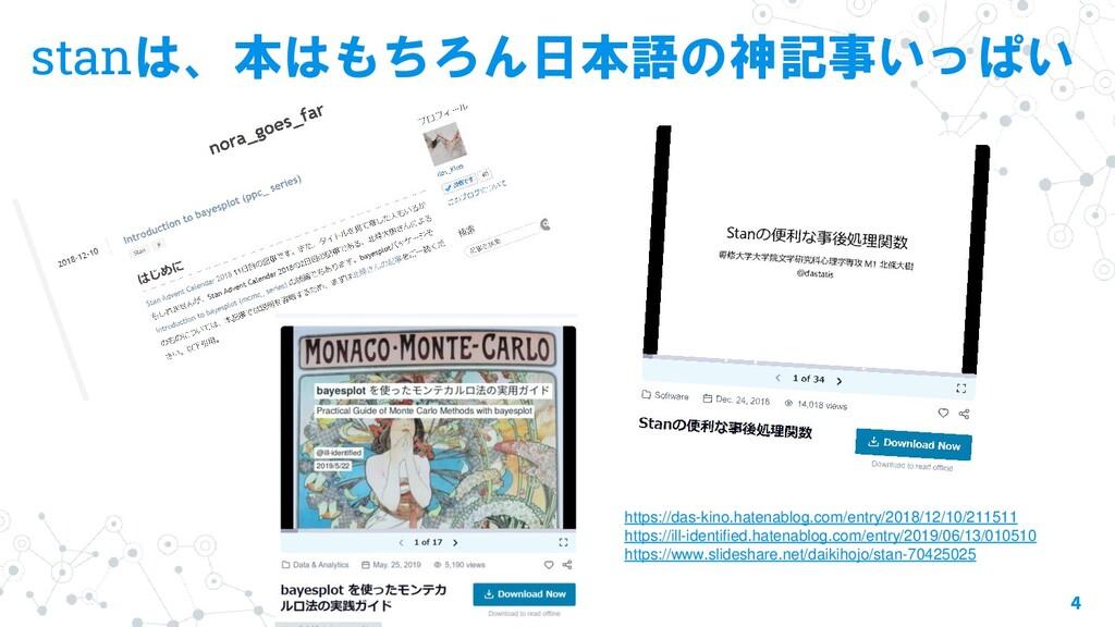 stanは、本はもちろん日本語の神記事いっぱい 4 https://das-kino.hate...