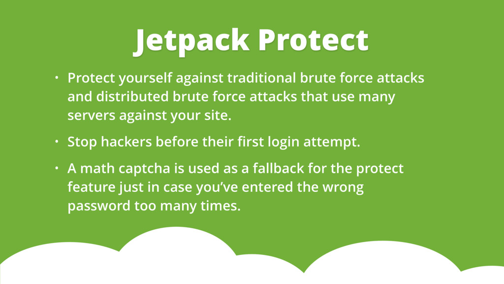 • Protect yourself against traditional brute fo...