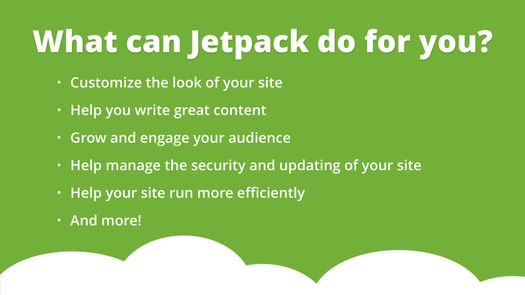 • Customize the look of your site • Help you wr...