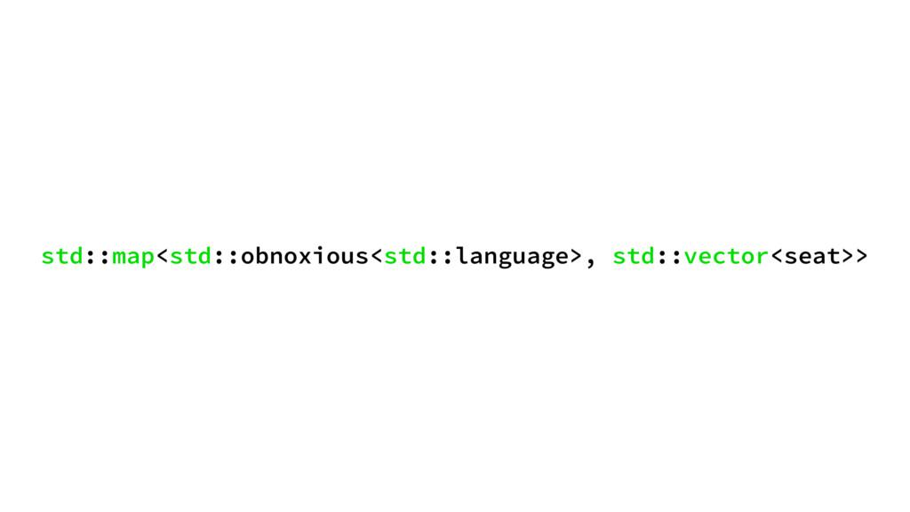 std::map<std::obnoxious<std::language>, std::ve...
