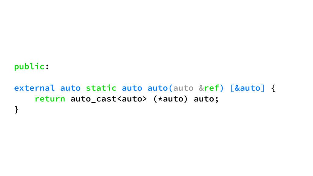 public: external auto static auto auto(auto &re...