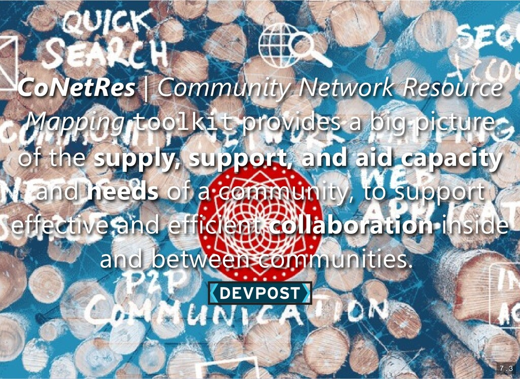 CoNetRes CoNetRes | | Community Network Resourc...