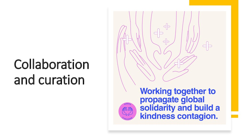 Collaboration and curation