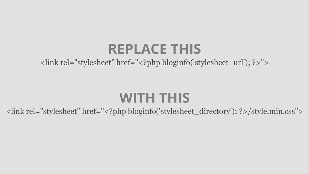 """REPLACE THIS <link rel=""""stylesheet"""" href=""""<?php..."""