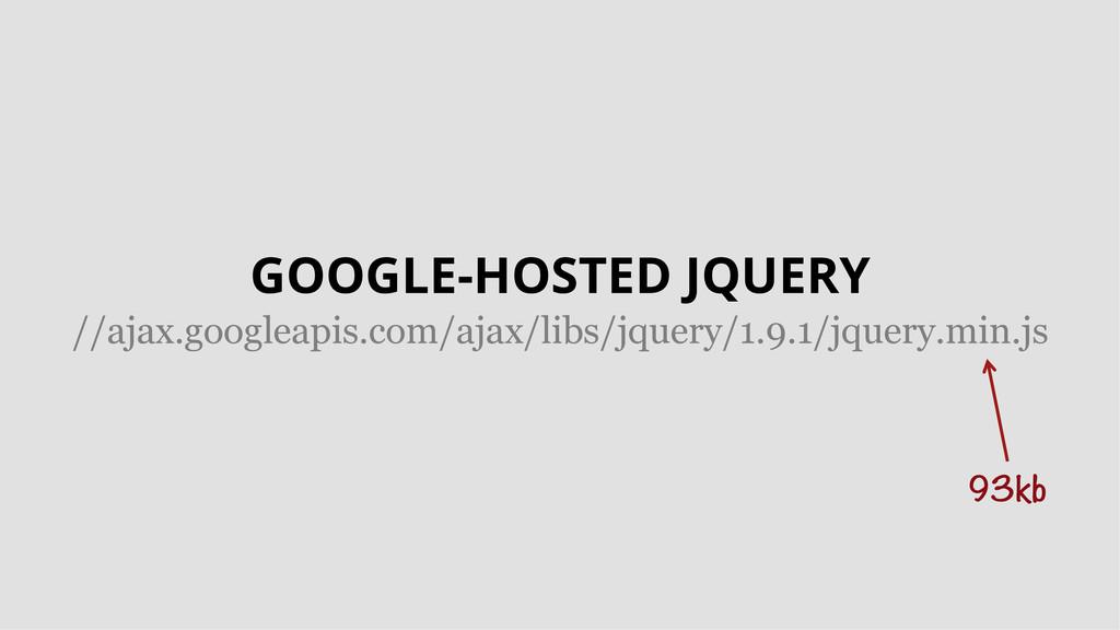 GOOGLE-HOSTED JQUERY //ajax.googleapis.com/ajax...