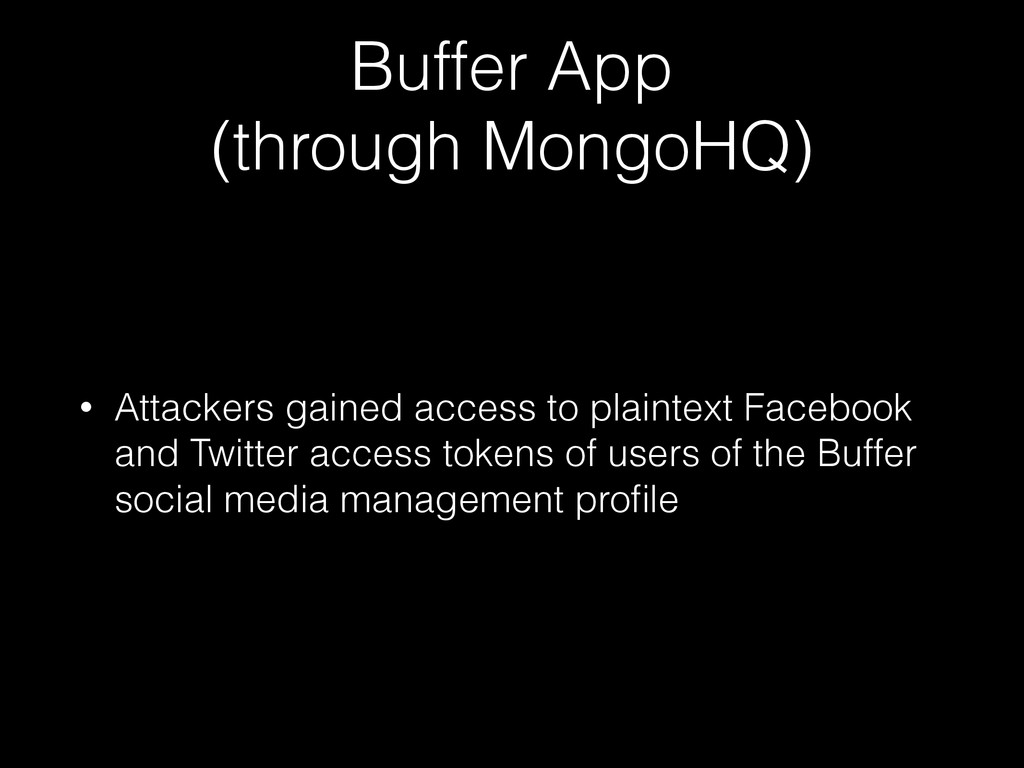 Buffer App 