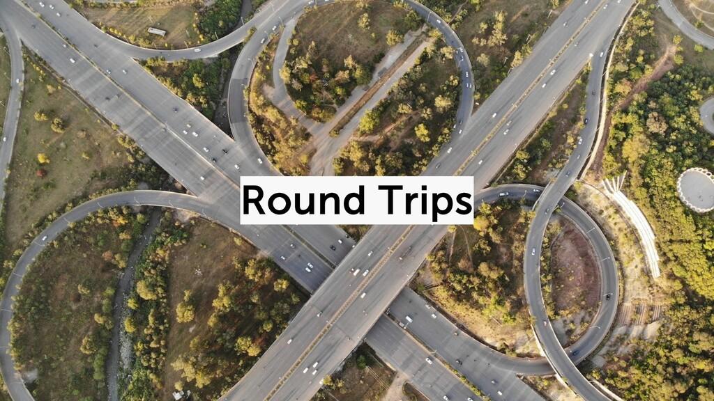 @duffleit Round Trips