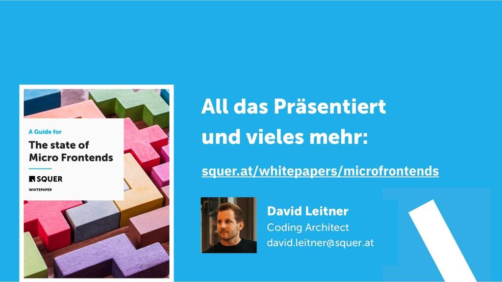 @duffleit David Leitner Coding Architect david....