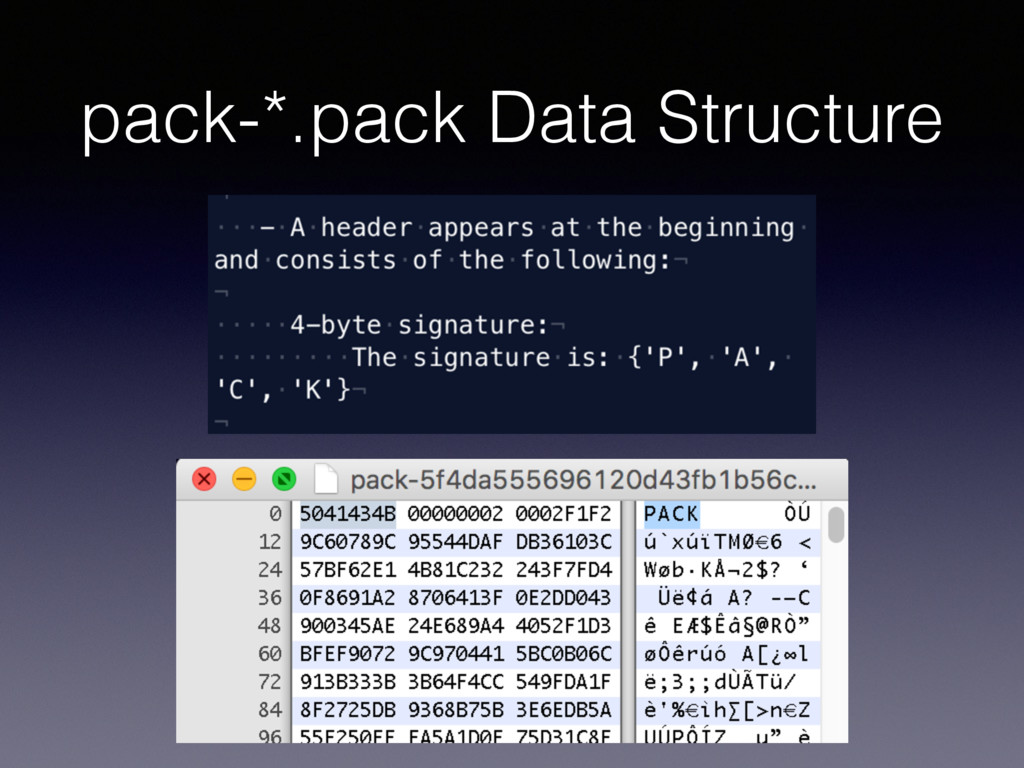 pack-*.pack Data Structure