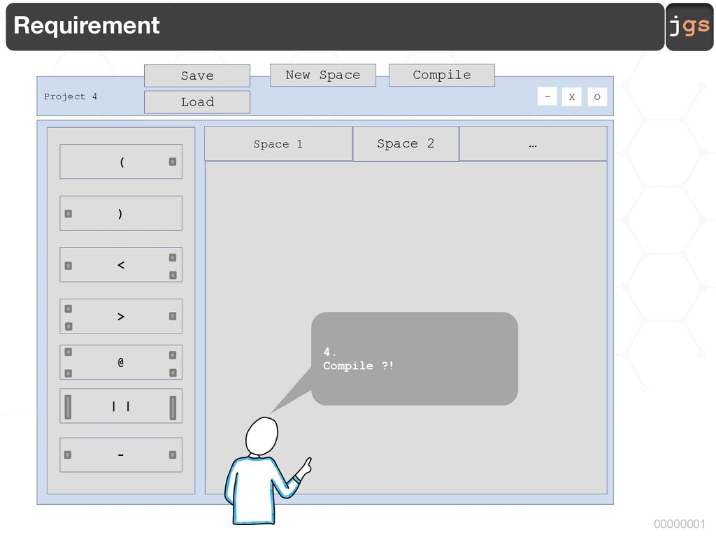 jgs 00000001 Requirement Space 2 … Project 4 O ...