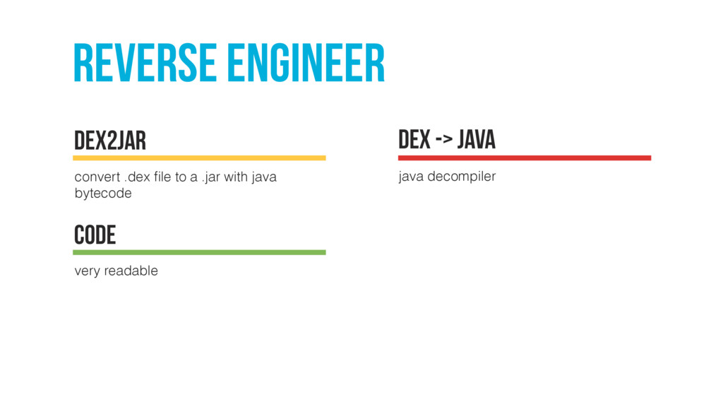 Reverse engineer convert .dex file to a .jar wit...