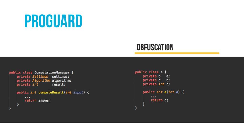 proguard obfuscation