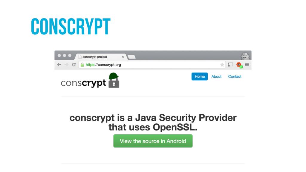 Conscrypt