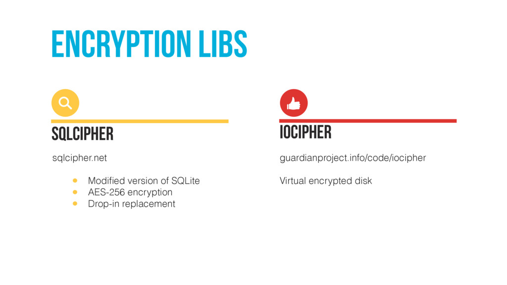 encryption libs SQLCipher sqlcipher.net • Modifi...
