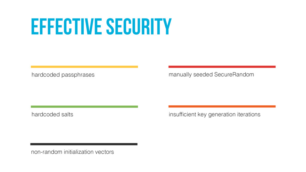 effective security hardcoded passphrases manual...