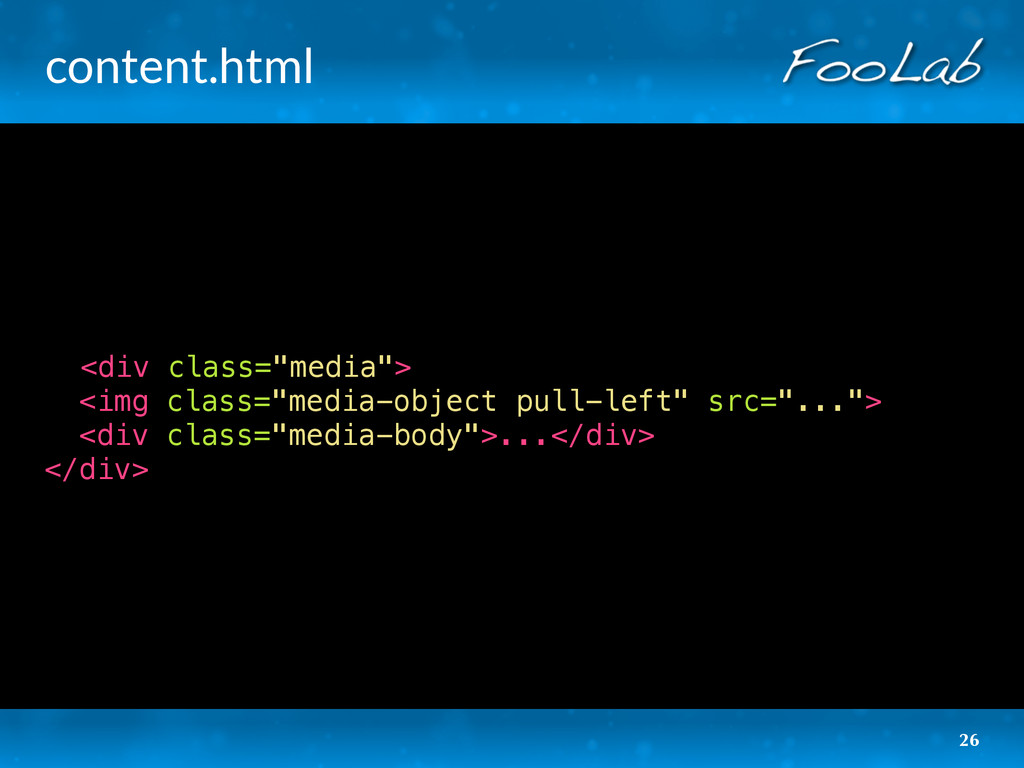 "content.html 26 <div class=""media""> <img class=..."
