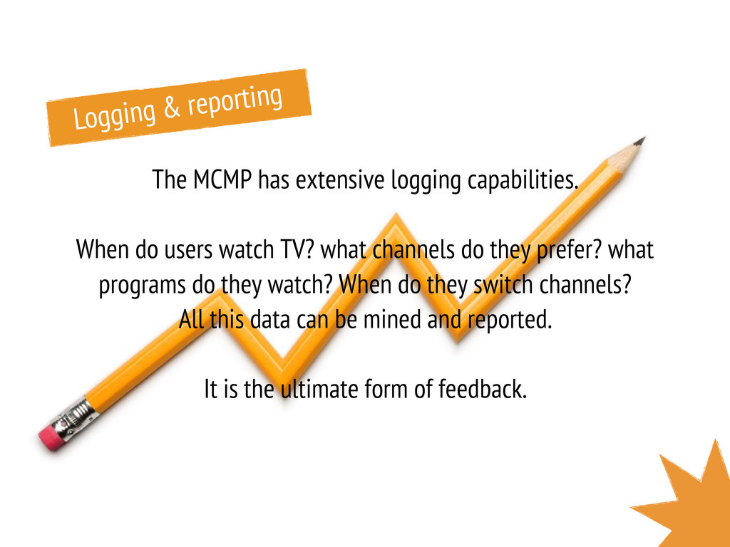 The MCMP has extensive logging capabilities. Wh...