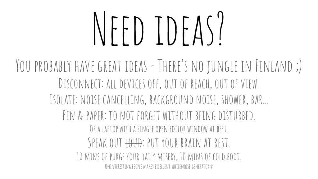 Need ideas? You probably have great ideas - The...
