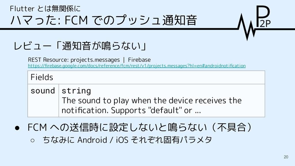 レビュー「通知音が鳴らない」 Flutter とは無関係に ハマった: FCM でのプッシュ通...