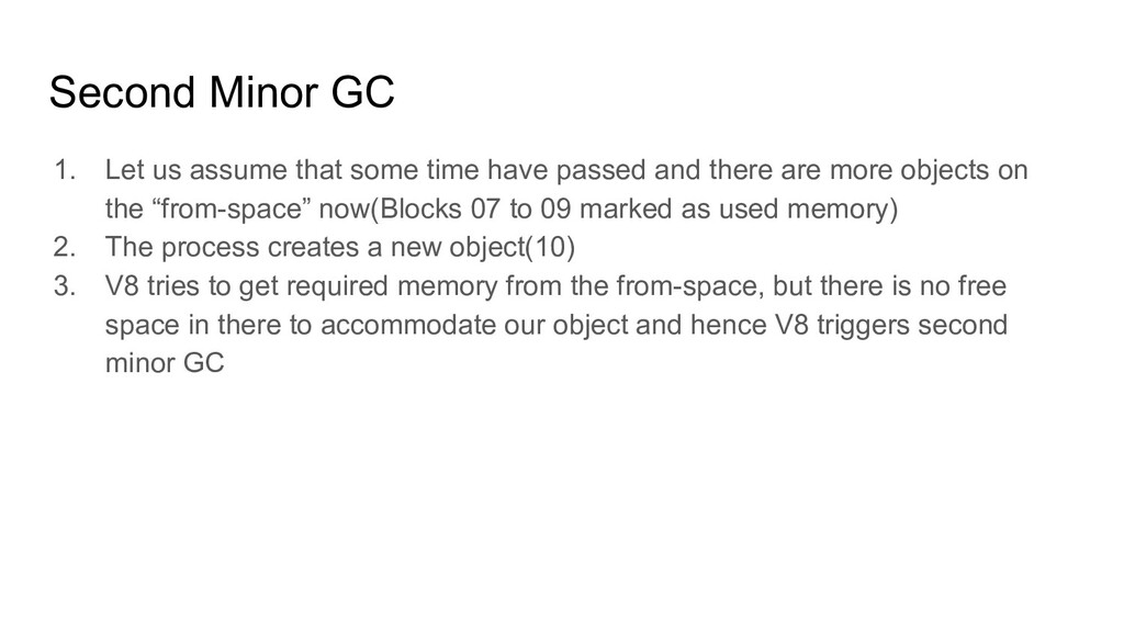 Second Minor GC 1. Let us assume that some time...