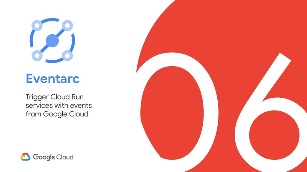 06 Eventarc Trigger Cloud Run services with eve...
