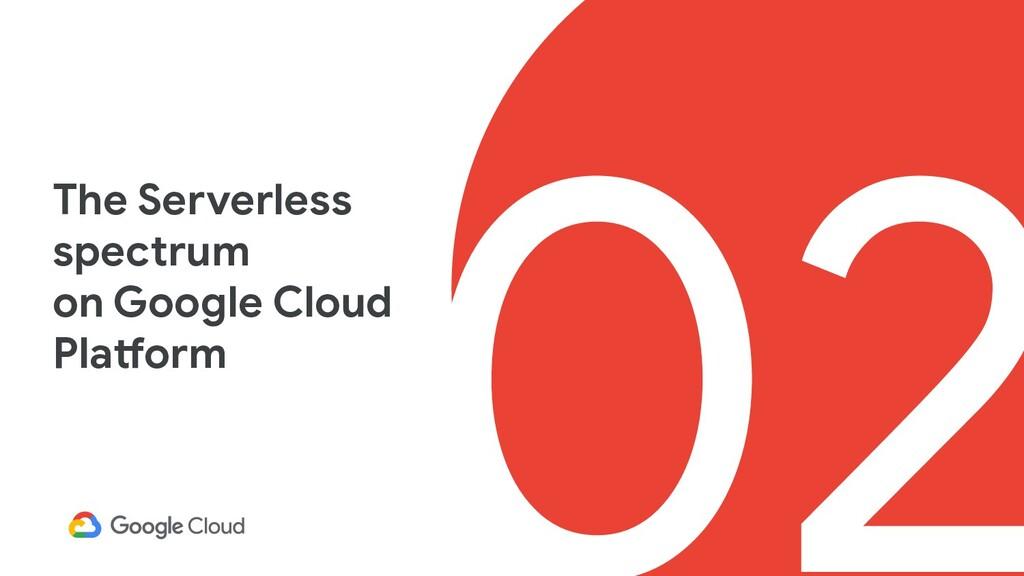 02 The Serverless spectrum on Google Cloud Plat...