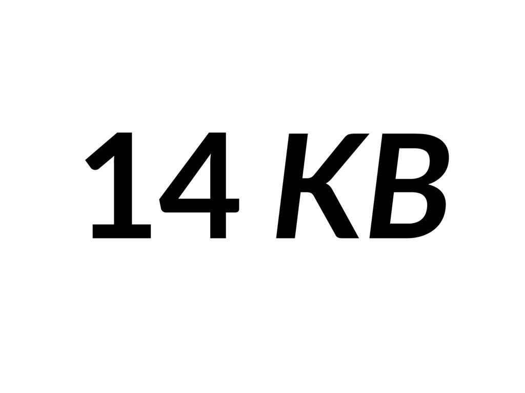 14 KB