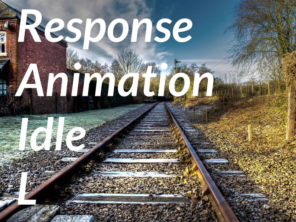 Response Animation Idle L