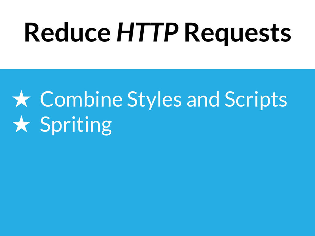 ★ Combine Styles and Scripts ★ Spriting Reduce ...
