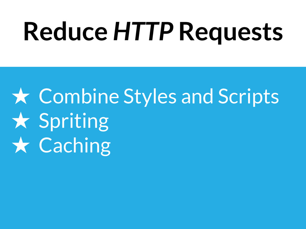 ★ Combine Styles and Scripts ★ Spriting ★ Cachi...