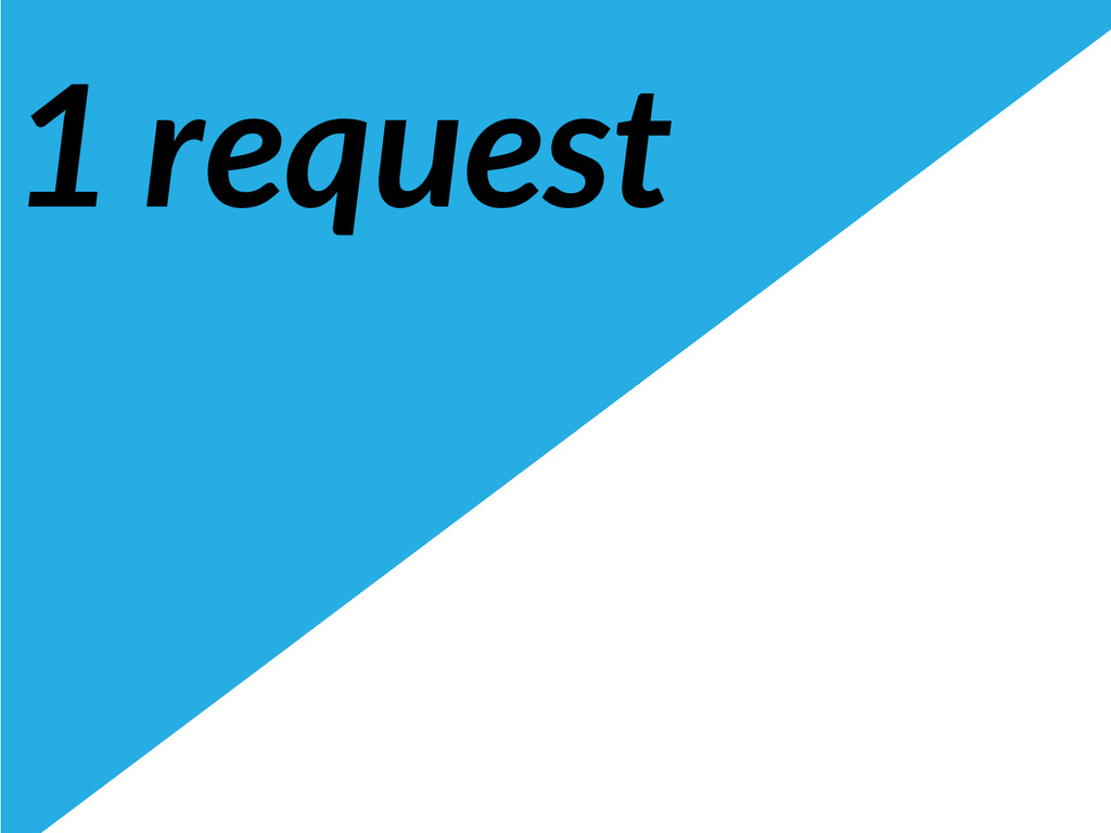 1 request