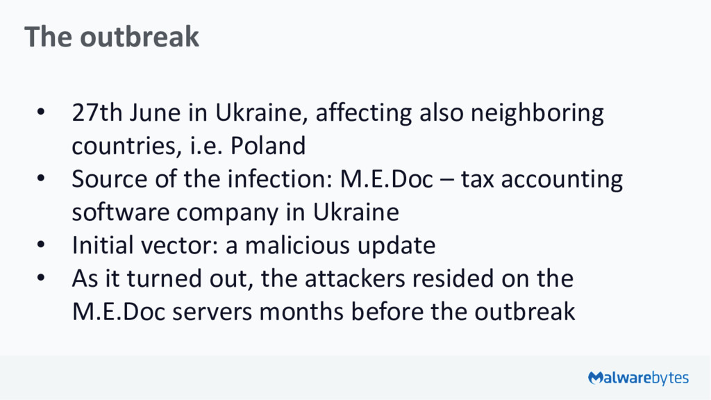 The outbreak • 27th June in Ukraine, affecting ...