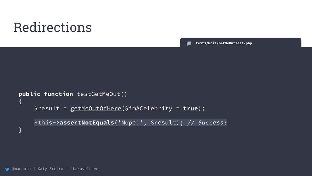 @maccath | Katy Ereira | #LaravelLive tests/Uni...