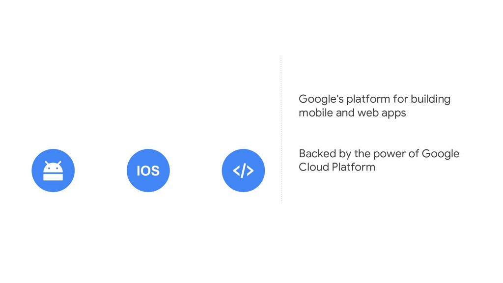 Google's platform for building mobile and web a...