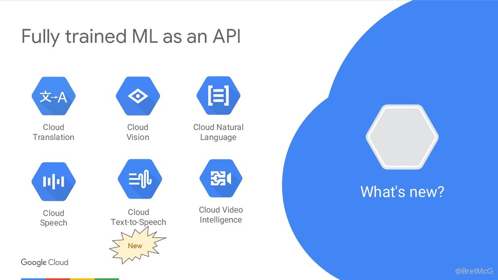 @BretMcG Fully trained ML as an API Cloud Natur...